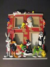 "Rare Classic 1996 Four Photo Looney Tunes - Warner Bros. Picture Frame -10"" x 8"""