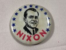 VTG 1969 Richard Nixon Presidential  political campaign pin pinback button badge