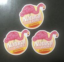 Natural Light Naturdays Beer Decal Sticker x3