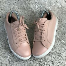 Oasis Womens Shoes UK 6 Eur 39 Beige Pink Fashion Trainers