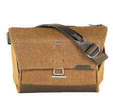 "Peak Design The Everyday Messenger Bag 15"" Heritage Tan. Premium Camera Case"