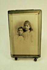 Antique French Beveled Glass Photo Picture Frame Standing Photo Frame