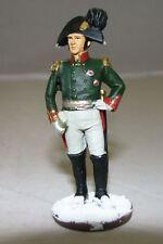"Eaglemoss metal toy soldiers Napoleonic Wars Life Guard Gen. Stroganov 2,36"" E1"