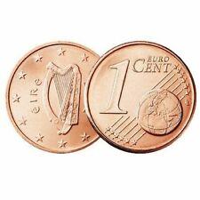 Pièces euro de l'Irlande pour 1 cent