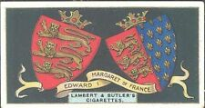 Lambert & Butler - Arms of Kings & Queens of England - 10 - Edward I