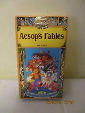 Vintage OOP 1989 Aesop's Fables Volume 4 VHS Video