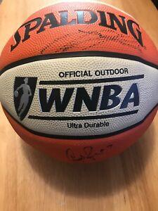 LA Sparks Team Signed Auto Spalding WNBA Basketball LSCM LOA Leslie Parker +More