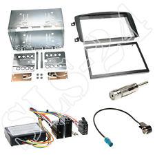 2-din mercedes clase c w203 radio diafragma 05/2000 -2004 + JVC volante Interface set