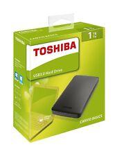 HARD DISK ESTERNO 2,5'' 1TB TOSHIBA USB 3.0 HARD DRIVE ORIGINALE SIGILLATO