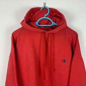 Vintage Champion Red Hoodie