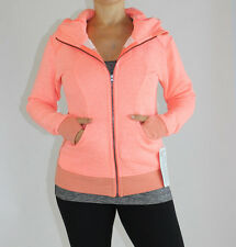 Lululemon On The Daily Hoodie size 6 Heathered Grapefruit NWT Orange Jacket NEW