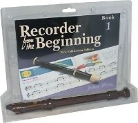 RECORDER FROM THE BEGINNING (Colour) 1 + Recorder