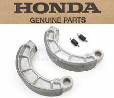 New Genuine Honda Rear Brake Shoes Shoe Pad 04 05 06 07 VT 600 VLX C CD #W123 B