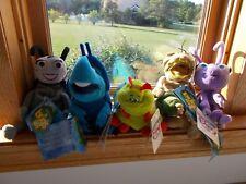 "Disney Store A Bugs Life 8""-9"" Bean Bag Plush Flea, Dot, Dim, Francis,Heimlich"