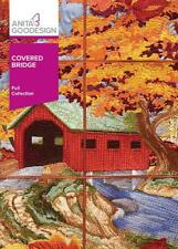 Covered Bridge Tile Scene Anita Goodesign Embroidery Design CD NEW 99AGHD