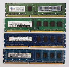 4GB DDR3 1333MHz Desktop PC RAM ~~ PC3-10600U Memory 240pin DIMM Non-ECC VAT