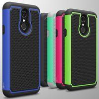 For LG Q7 / Q7 Plus / Q7 Alpha Case Tough Protective Shockproof Hybrid Cover