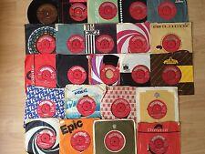 Job Lot Of Vinyl Records 7inch Singles 45s/  1960s X38 Parlorphone Label