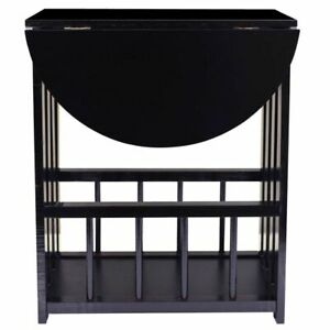 Small Sofa Side End Table W/ Storage Unit Coffee Table Lamp Plant Display Stand
