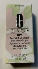 Clinique Biy Blend It Yourself Pigment Drops Foundation Moisturizer .34oz #160