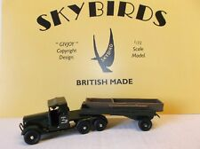 Skybirds Models.  Royal Engineers Morris Carrymore and Pontoon.