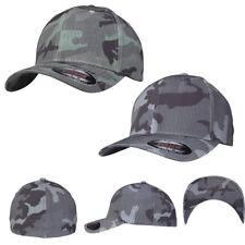 Flexfit Camo Stripe Cap Camouflage Tarn Army Bundeswehr Military Bdu