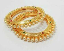 Ethnic Traditional Set Indian Jewelry Bangle Bracelet Bollywood Bangles Kada AD