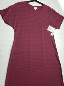 Lularoe Medium Maria Long T-Shirt Dress