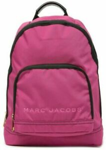 NWT Marc Jacobs All Star Nylon Backpack $225 HYDRANGEA PINK