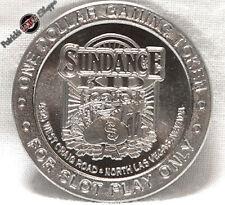 $1 Route Slot Token Sundance Kid Cafe Casino 1995 Gdc Mint N. Las Vegas Nevada