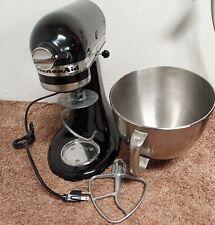 Kitchen Aid Classic 5 Quart Tilt Head Mixer Onyx