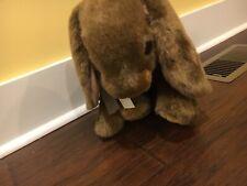 Vintage Commonwealth Brown Bunny Stuffed Plush