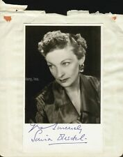 SONIA DRESDEL - PHOTOGRAPH SIGNED