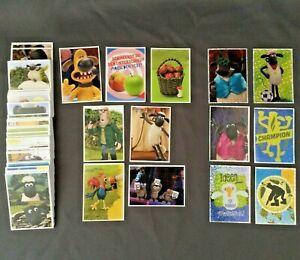 ALDI Nord Shaun das Schaf - Shauns Sammelspass - Sticker aus allen 160 aussuchen