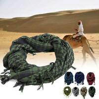 Lightweight Military Arab Tactical Desert Army Shemagh KeffIyeh Scarf Fashion GA