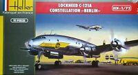 """Heller 1:72 Lockheed C-121A Constellation """"Berlin"""" Aircraft Model Kit"""