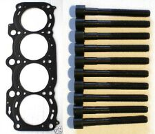 FOR TOYOTA CELICA ST185 ST205 MR2 3SGTE TURBO NEW STEEL HEAD GASKET & HEAD BOLTS