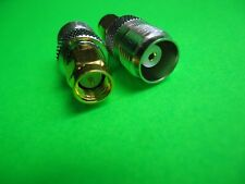TNC TO SMA ADAPTER      SMA TO TNC ADAPTER CONNECTOR  MALE FEMALE