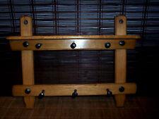 altes Küchenregal, Regal Küche antik, Holz Wandregal, Tuchhalter HZ 1036