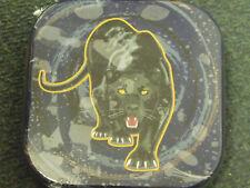 Hama 90038 Black Panther  Tin Storage Case CD DVD Metal