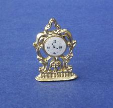 Miniature Dollhouse Clock 1:12 Scale New