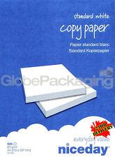 2 REAMS (1000 SHEETS) OF A4 PRINTER COPIER PAPER 80gsm