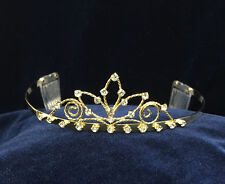 """Crystal Rhinestones With Combs Children Tiara. 1.5"""" Tall.  Pick Your Color !"""