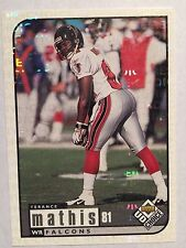 1998 UD Choice Reserve #11 - Terance Mathis - Atlanta Falcons
