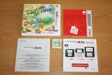Yoshi's New Island Nintendo 3DS ultra complet Comme neuf (no mario,zelda,kong)