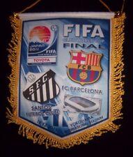 Orig.Wimpel   FIFA Klub Weltmeisterschaft JAPAN 2011  FINALE  SANTOS - BARCELONA