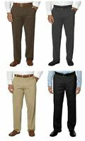 Men's Kirkland Signature Non Iron Classic Comfort Fit Dress Pants VARIETY