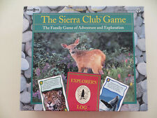 THE SIERRA CLUB GAME UNIVERSITY GAMES CORPORATION 1994