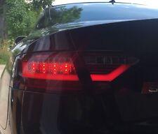 Rückleuchten Audi A5 S5 07-11 LED Lightbar Heckleuchten rot-schwarz SET