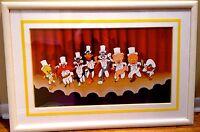 Looney Tunes Cel Warner Bros Bugs Bunny Speedy Yosemite Chorus Line Rare Cell